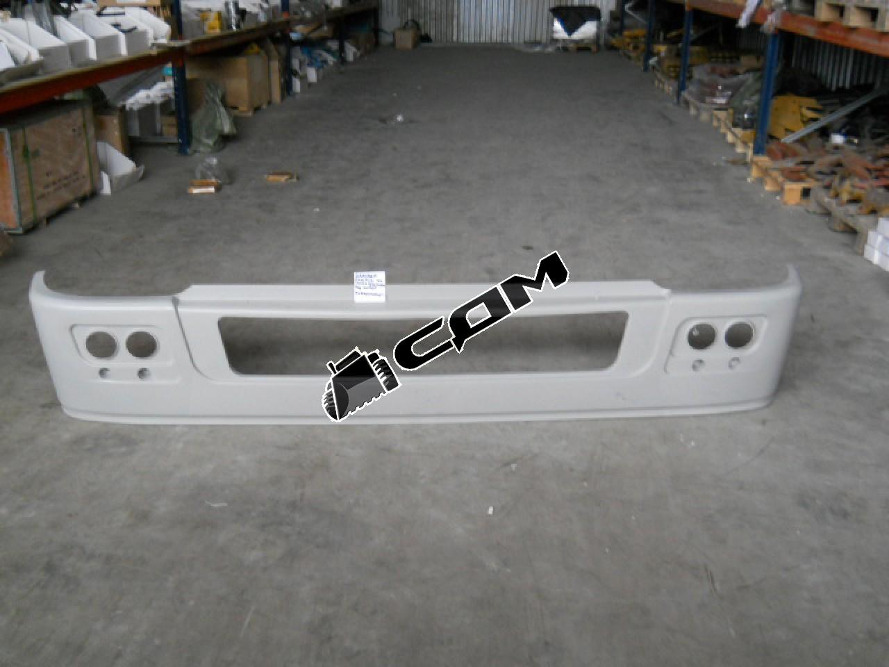 Бампер пластиковый на тягач без вставки под номер  WG1642240002/1